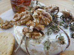 J.Friend & Co. Baked Camembert and Walnuts