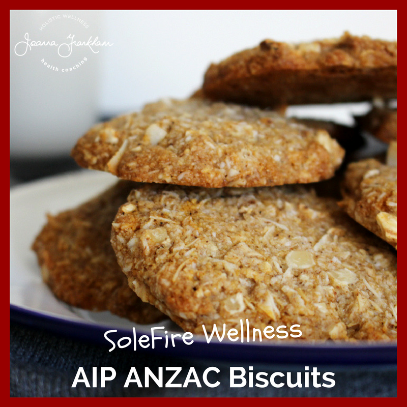 AIP ANZAC Biscuit