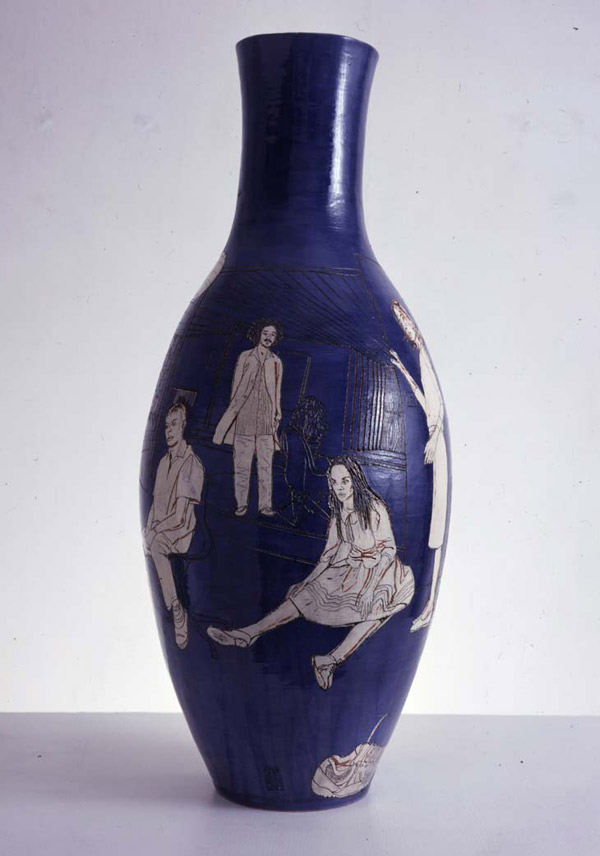 Image of Grayson Perry's Boring Cool People Vase