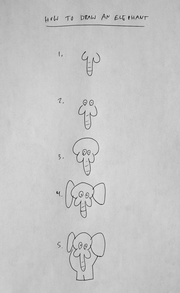 'How to Draw an Elephant' by Brock Davis
