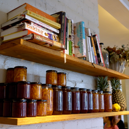 Homemade preserves at West Juliett (Image by TSL)