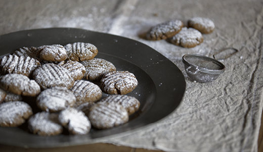 Shape and Bake Gingernut Biscuits (Image from Sydney Living Museums)