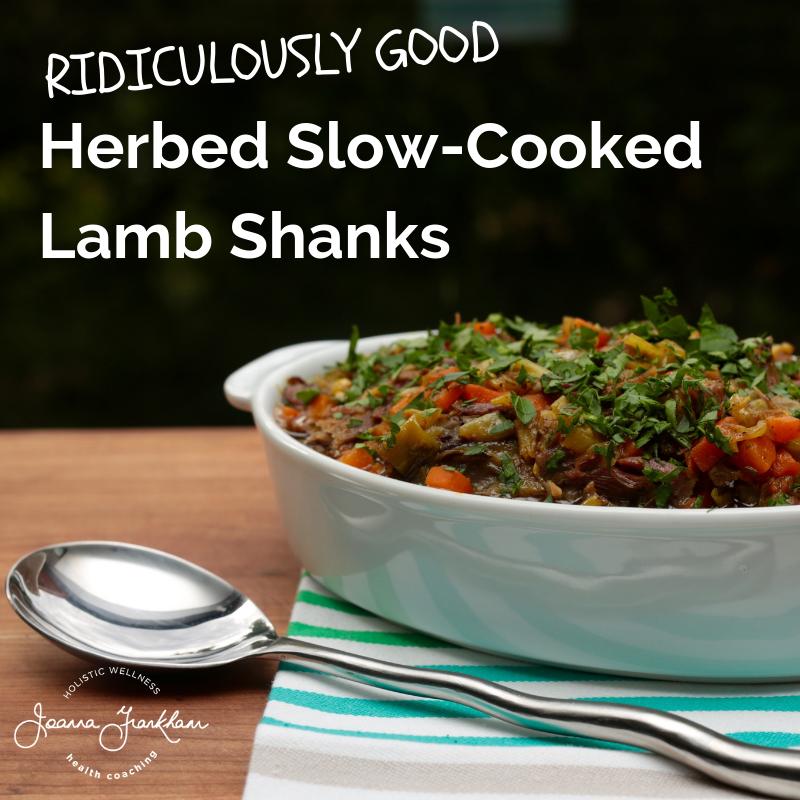 Herbed Lamb Shanks