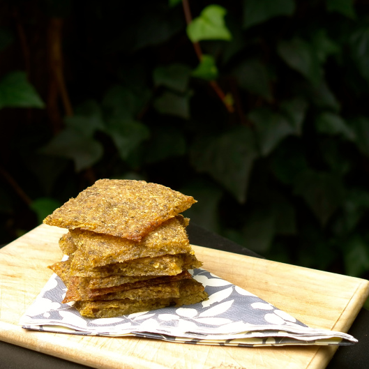 Herby Plantain Crackers