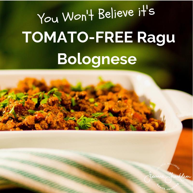 Tomato-Free Ragu Bolognese