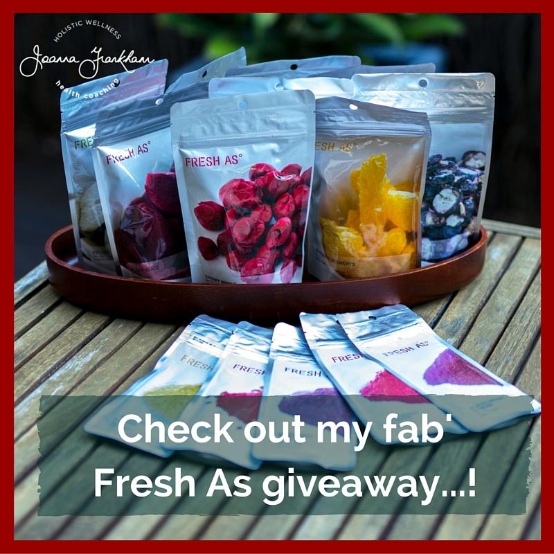 JFC Fresh As Giveaway