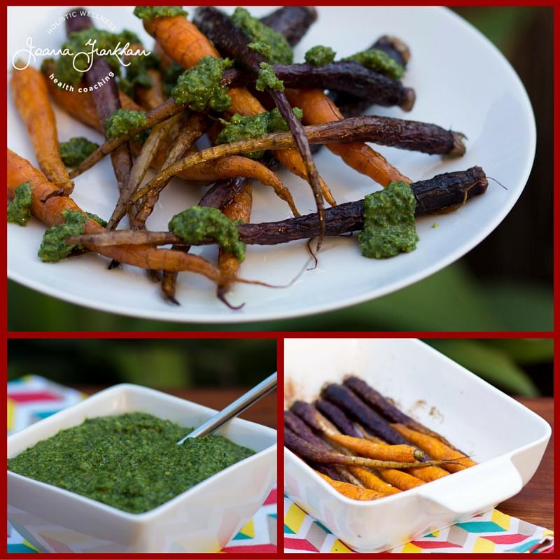 JFC Carrot Top Salsa Verde