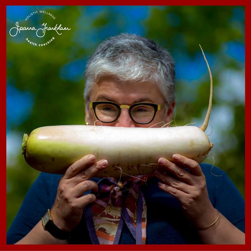 JFC and her giant radish