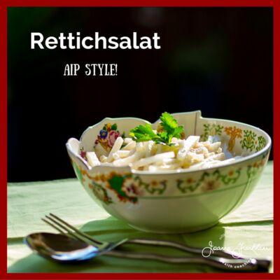 JFC German Radish Salad with Horseradish