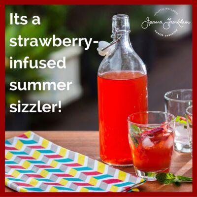 JFC Strawberry-Mint Tea