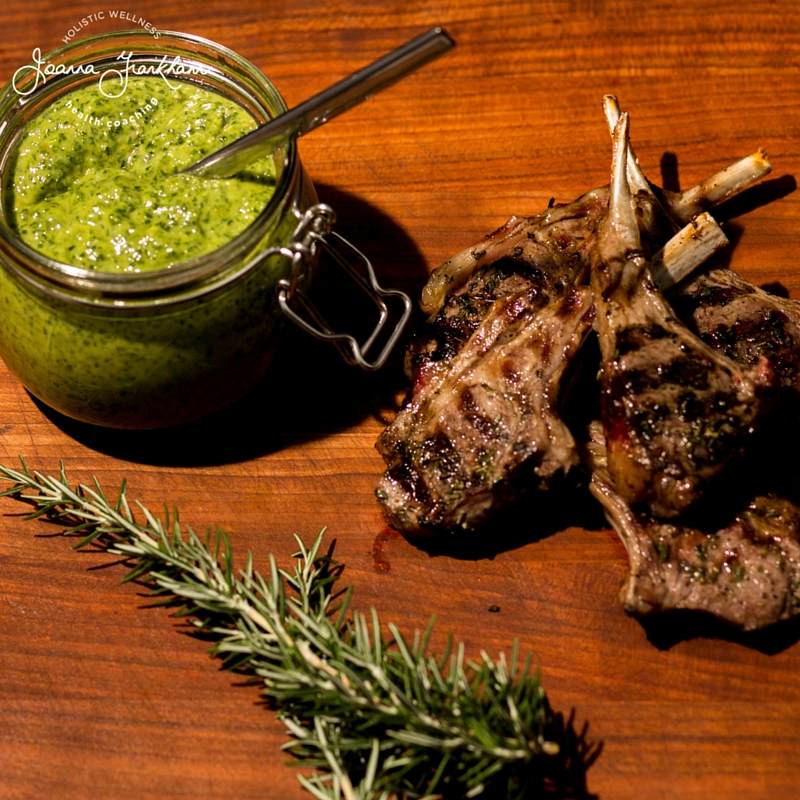 JFC AMAZING Anchovy & Roasted Garlic Green Sauce