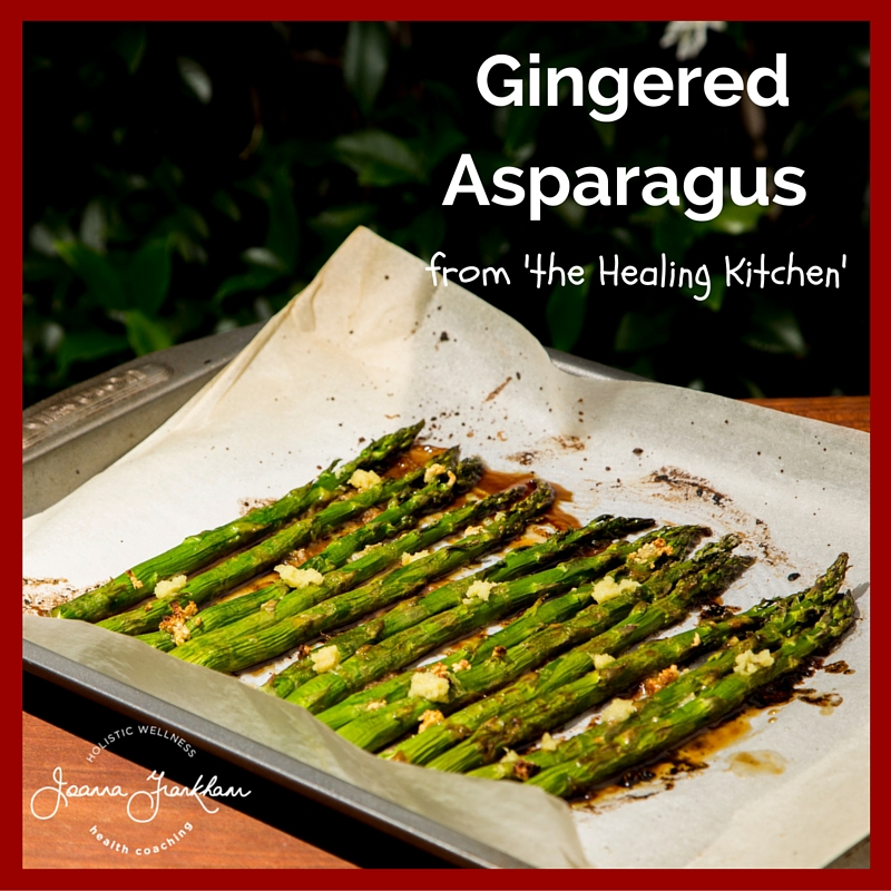 THK Gingered Asparagus