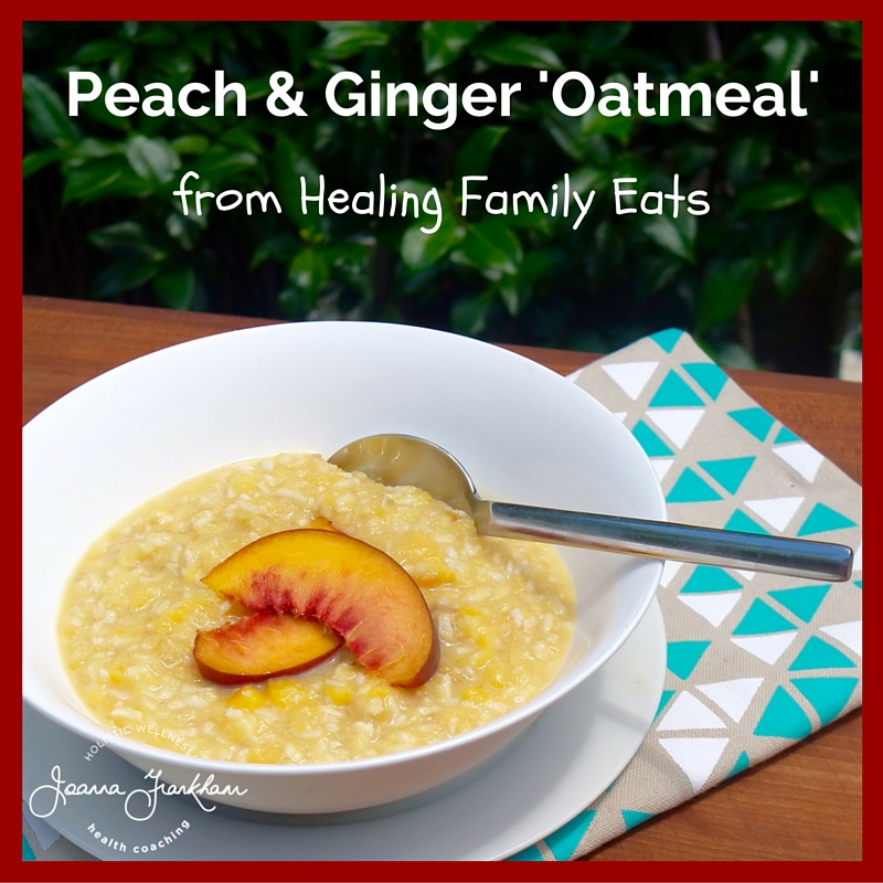 Healing Family Eats Oatmeal