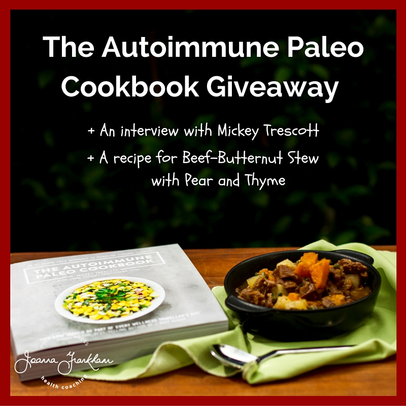 The Autoimmune Paleo Cookbook Giveaway