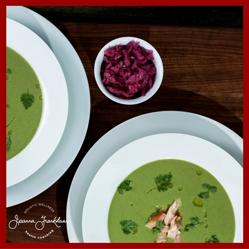 JFC Green Soup with Fermented Veggies
