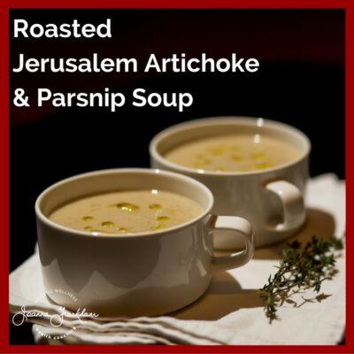 Roasted Artichoke Soup