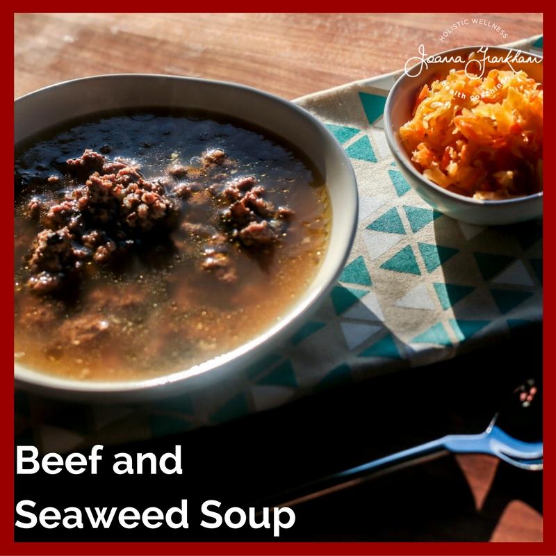Korean Beef and Seaweed Soup