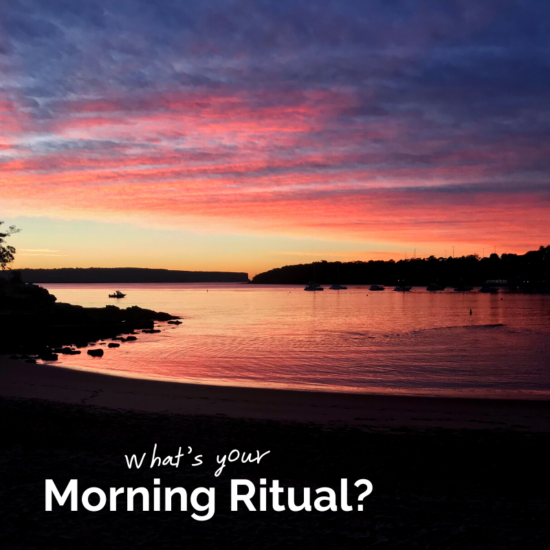 The Importance of a Morning Ritual