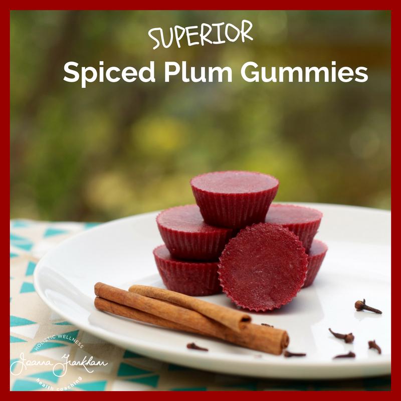 Spiced Plum Gummies