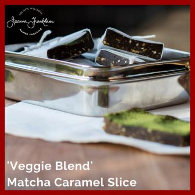 Vital Proteins Matcha Caramel Slice