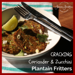 Savory Plantain Fritters