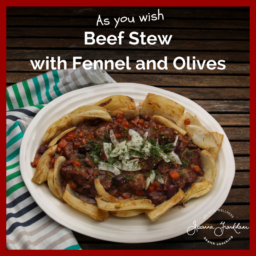Beef, Fennel and Olive Stew