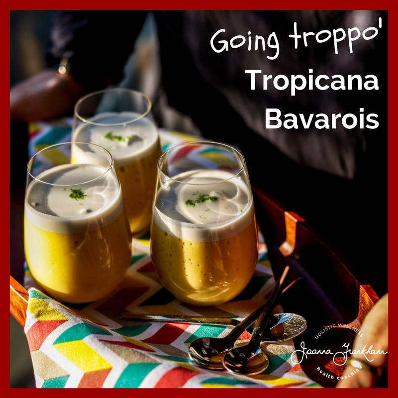 Tropical Flavoured Bavarois