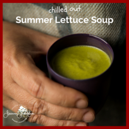 Chilled Lettuce Soup