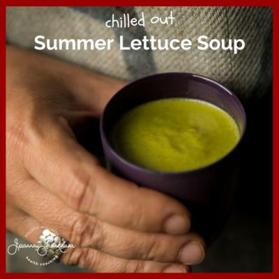 Chilled Lettuce Soup