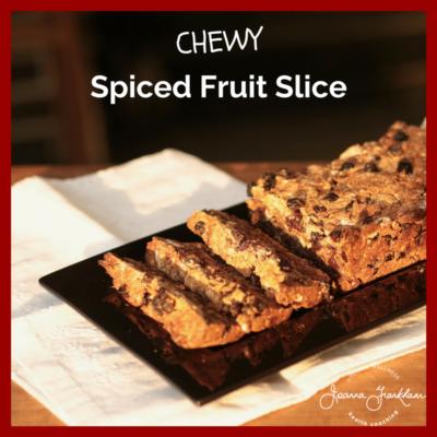 Nut Free Fruit Slice