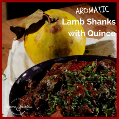 JFC Aromatic Lamb Shanks and quince