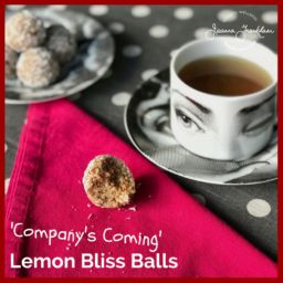Nut Free Lemon Bliss Balls