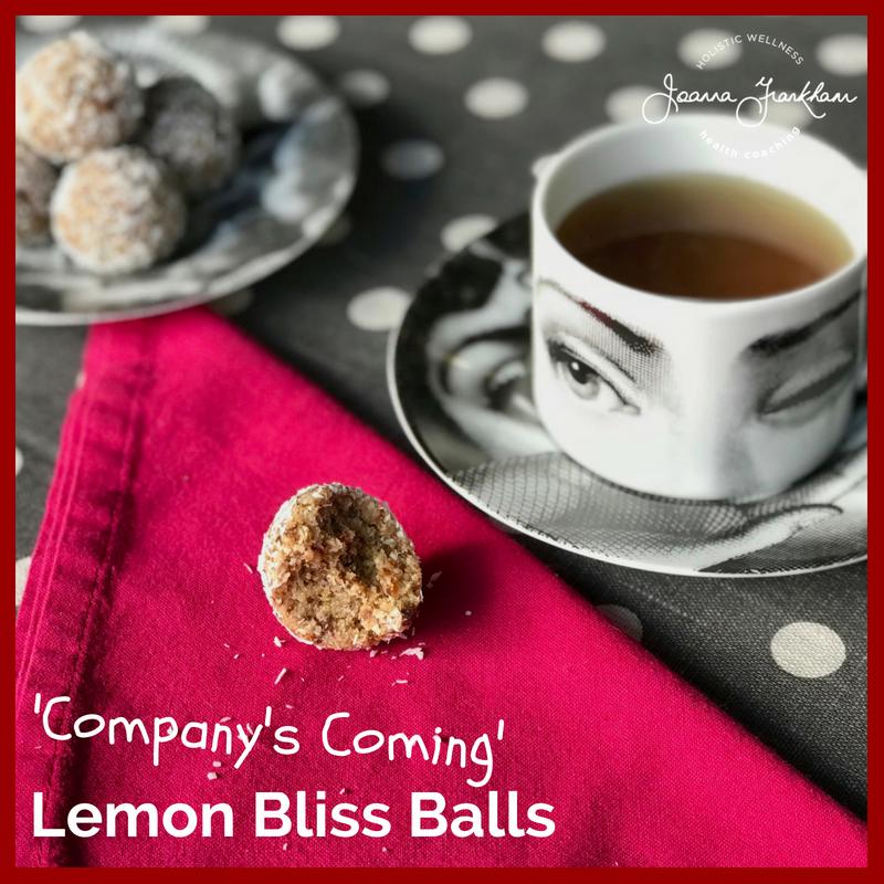 Nut Free Lemon Bliss Balls