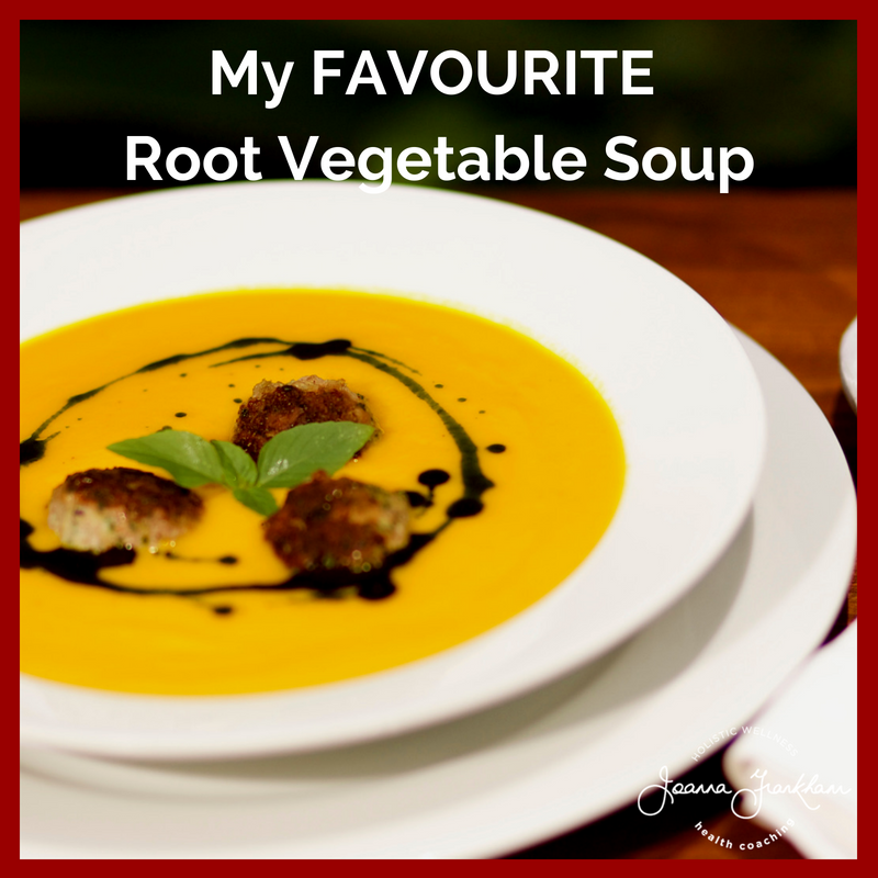 JFC Root Vegetable Soup