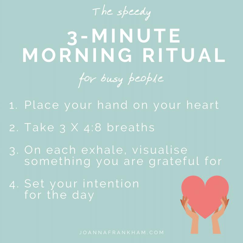 Speedy Morning Ritual