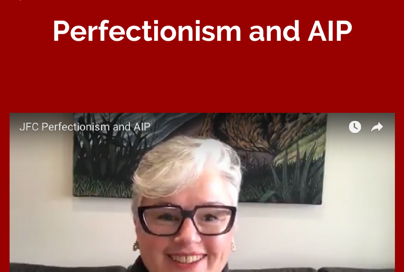 JFC - Perfectionism and AIP
