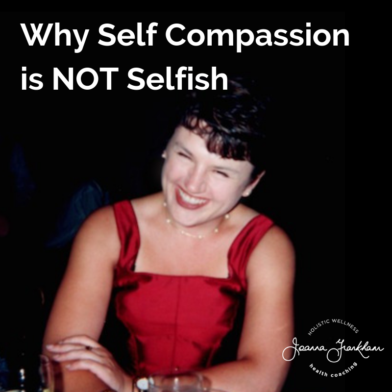 Why Self Compassion is Not Selfish