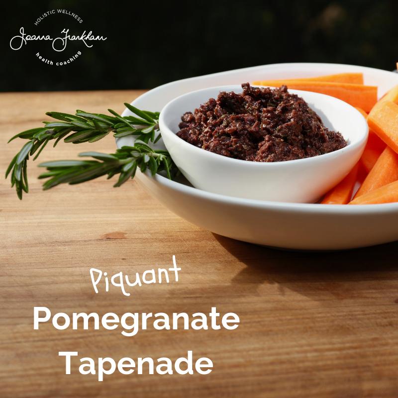 Pomegranate Tapenade