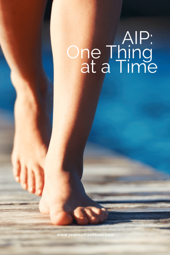 AIP - One thing at a time