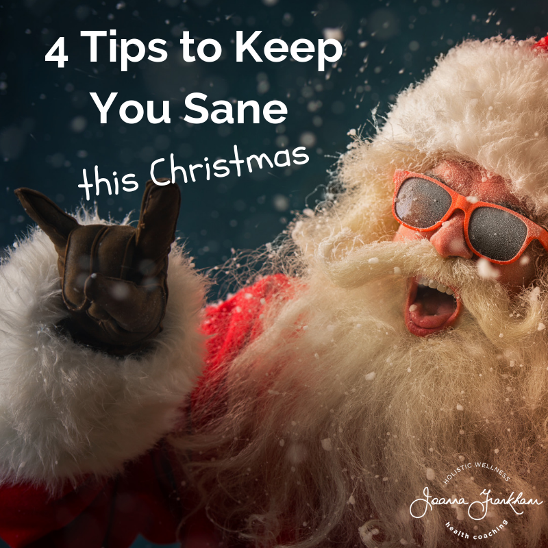 Christmas Sanity Tips