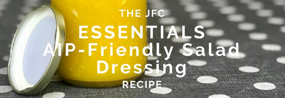 Essentials No Frills Salad Dressing