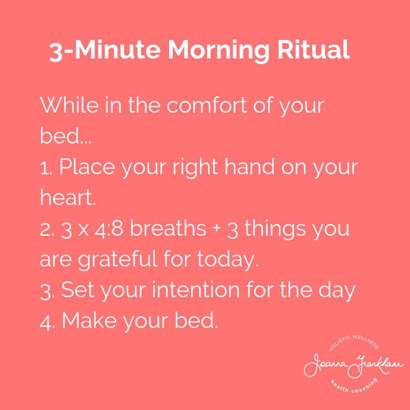 Morning Ritual Spotlight: Joanna Frankham
