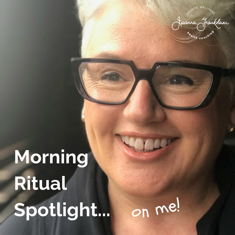 Morning Ritual Spotlight: Joanna Frankham