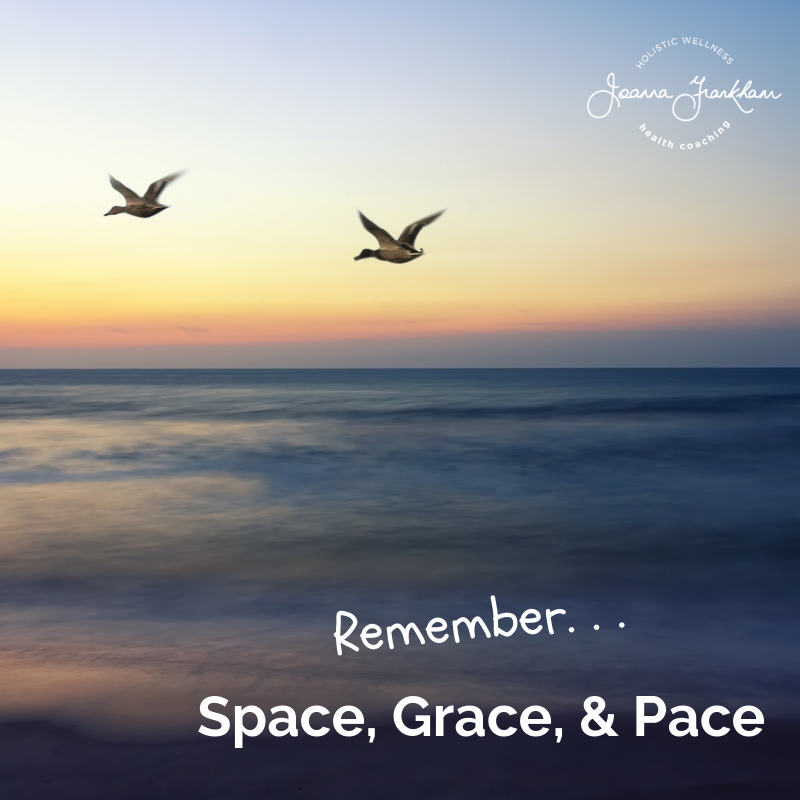 Space Grace and Pace