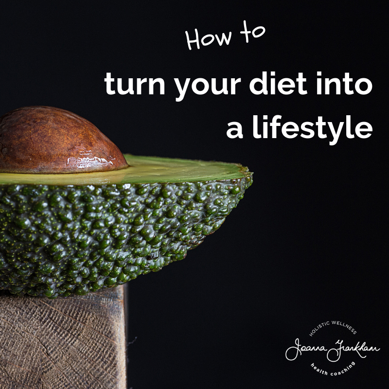 Turn your diet into a lifestyle