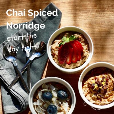 Chai Spiced Norridge