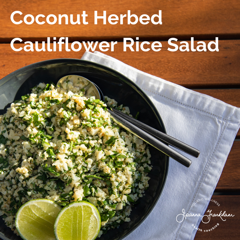 Cauliflower Rice Salad