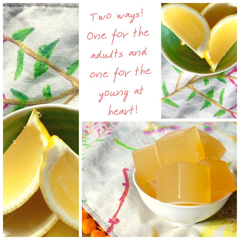 Lemon Ginger and Honey Gummies