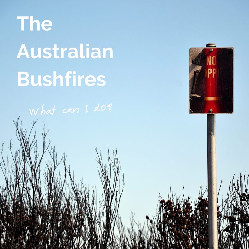 Bushfires - What Can I Do