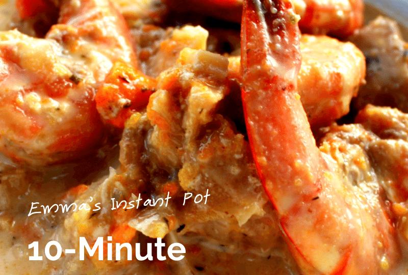 10-Minute Seafood Chowder